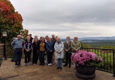 October Social Committee Luncheon at the Castle