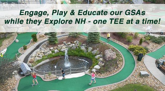 Sponsor: GSA Miniature Golf Tournament