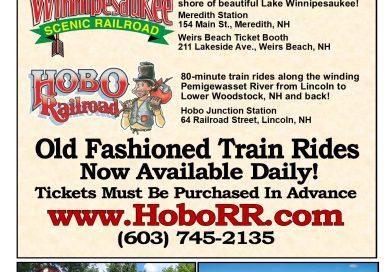 Hobo & Winnipesaukee Scenic Railroad Now Open for the 2020 Season