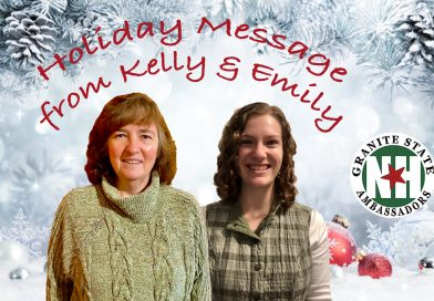 Holiday Message from Kelly & Emily